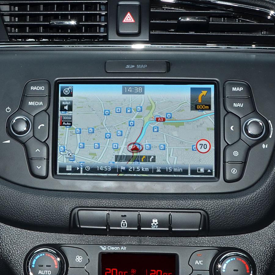 Kia LG Nav (Cee'd Sportswagon) - Vue principale