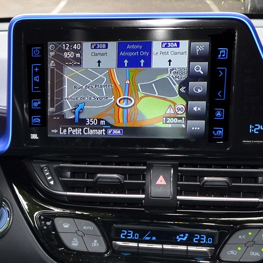 Toyota Touch & Go 2 (C-HR) - Vue principale