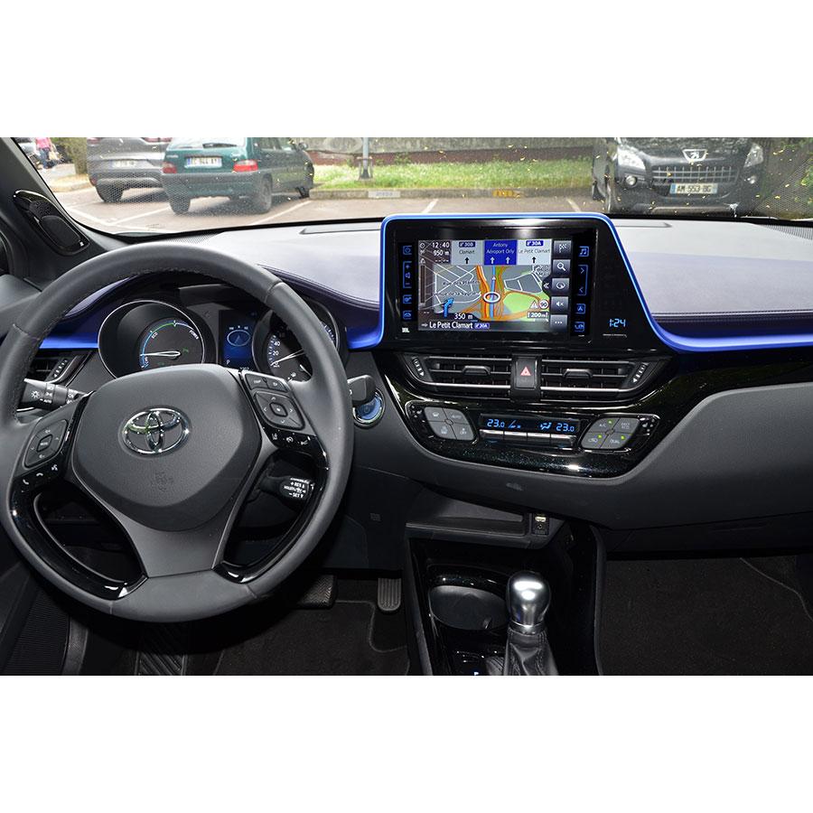 Toyota Touch & Go 2 (C-HR) - Tableau de bord