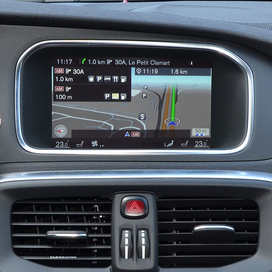Test Volvo Sensus Navigation (V40 Cross Country D3