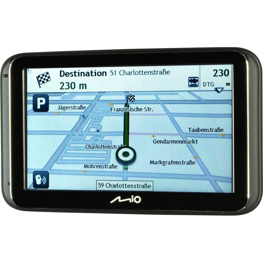 test mio spirit 6970 lm europe truck mode gps pour. Black Bedroom Furniture Sets. Home Design Ideas
