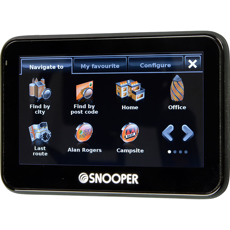 test snooper ventura pro s2700 gps pour camping car ufc que choisir. Black Bedroom Furniture Sets. Home Design Ideas