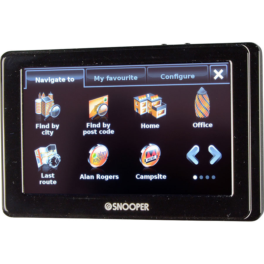 test snooper ventura pro sc5800 gps pour camping car ufc que choisir. Black Bedroom Furniture Sets. Home Design Ideas