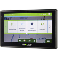 Mappy Maxi E738 - Menu principal