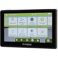 Mappy Ulti S556 - Menu principal
