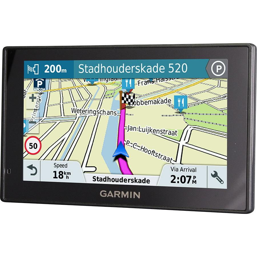 Garmin DriveSmart 50 LM - Exemple de navigation