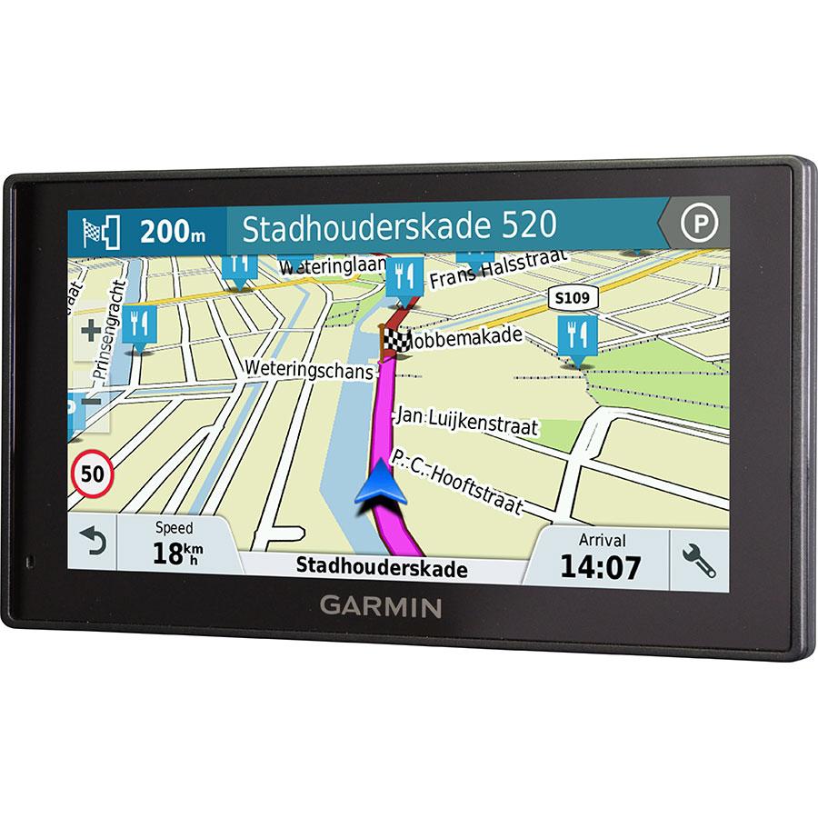 Garmin DriveSmart 60 LMT - Exemple de navigation