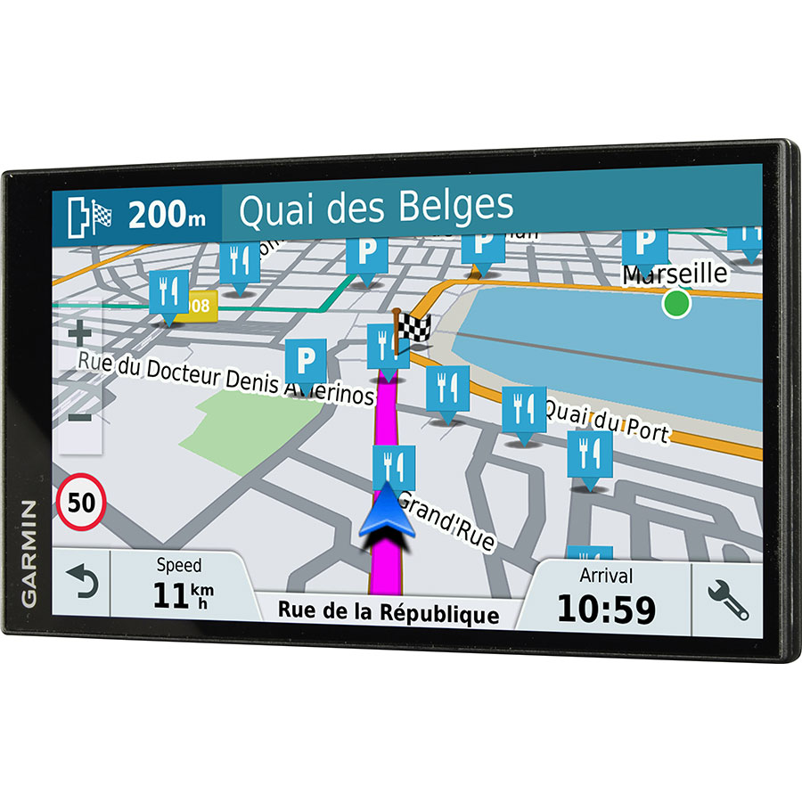 test garmin drivesmart 61 lmt s europe gps ufc que choisir. Black Bedroom Furniture Sets. Home Design Ideas