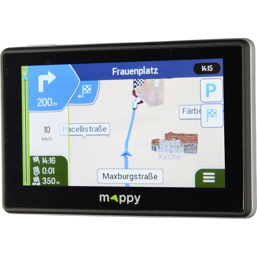 Mappy Iti E438T - Exemple de navigation