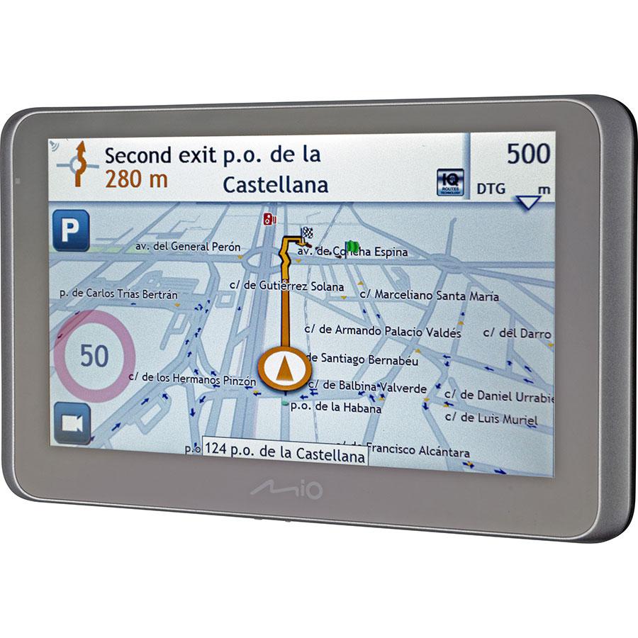 Mio MiVue Drive 65 LM - Exemple de navigation