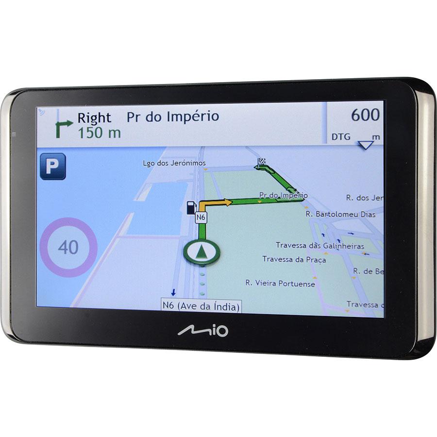 Mio Spirit 8670 LM - Exemple de navigation