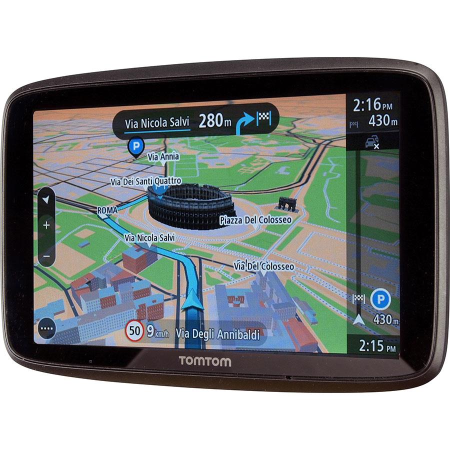 TomTom Go 6200 - Exemple de navigation