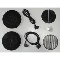 Elica Wake WH/F/55 - Système de fixation
