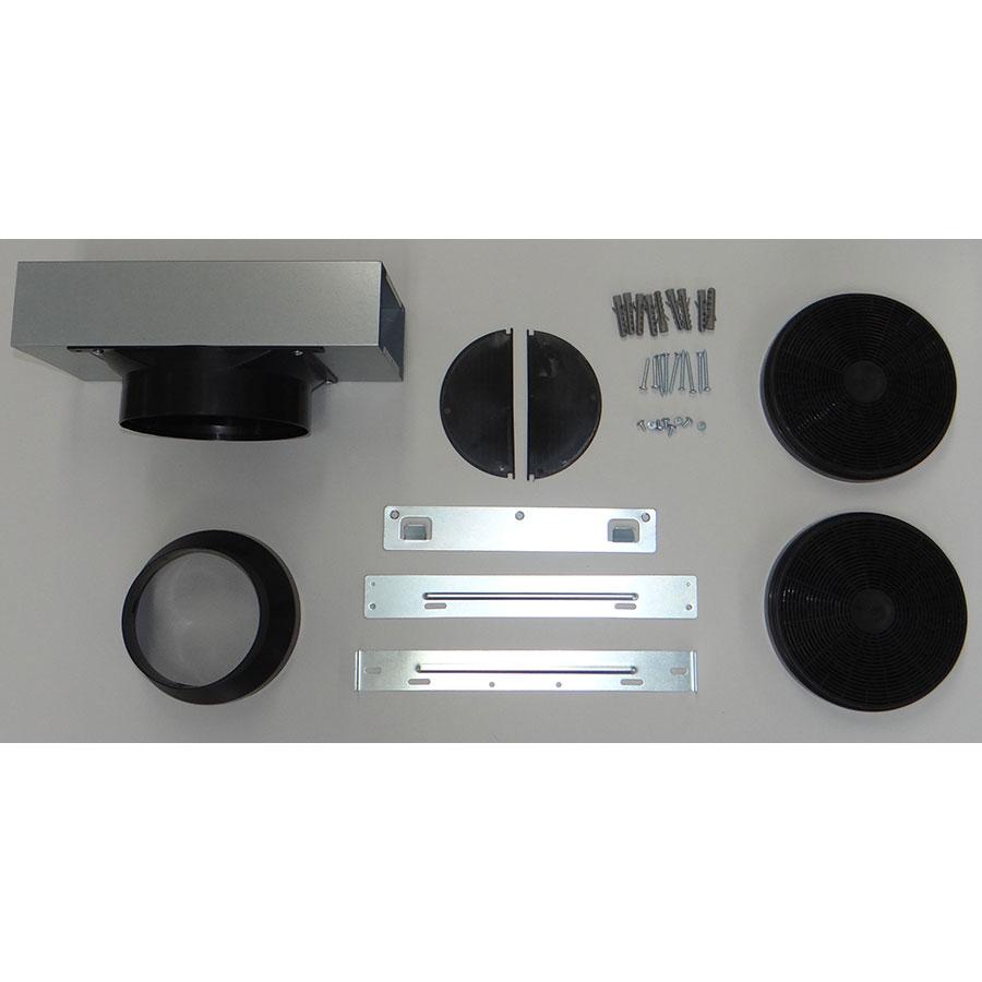Brandt BHB6601X - Accessoires fournis