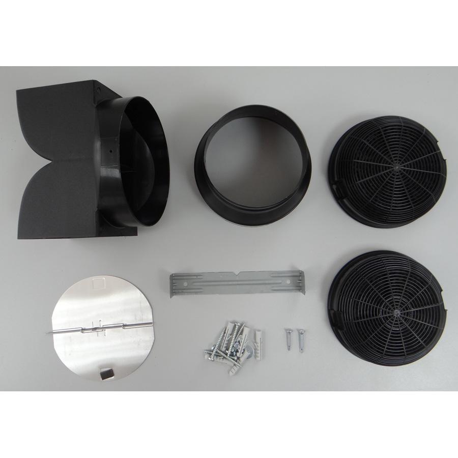 Faure FHC60131X - Accessoires fournis