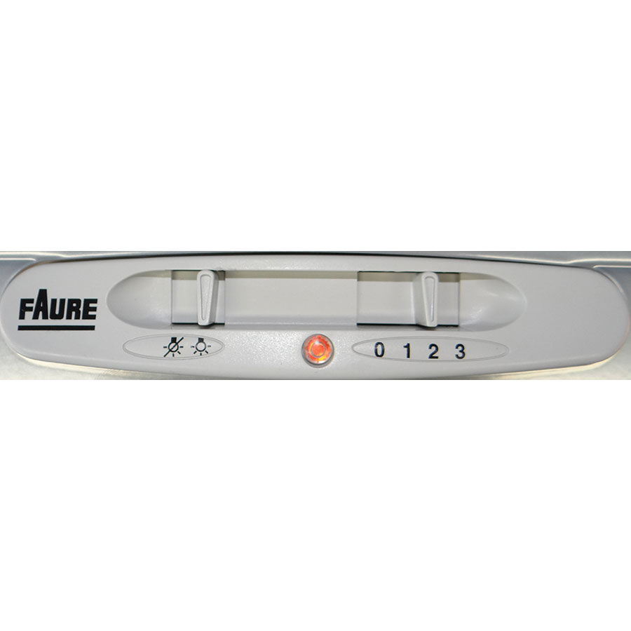Faure FHG5222X - Bandeau de commandes