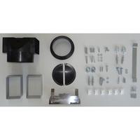 Smeg KPF9RD - Système de fixation
