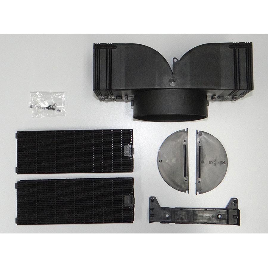 Samsung HDC9147BX/XSA - Accessoires fournis