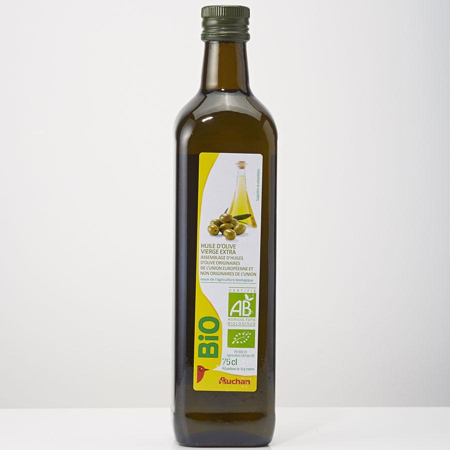 Auchan Bio - Huile d'olive -