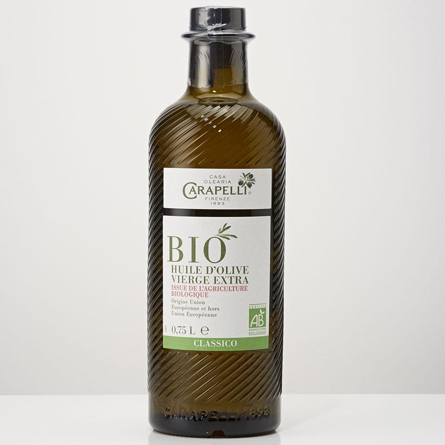 Carapelli Bio - Huile d'olive -