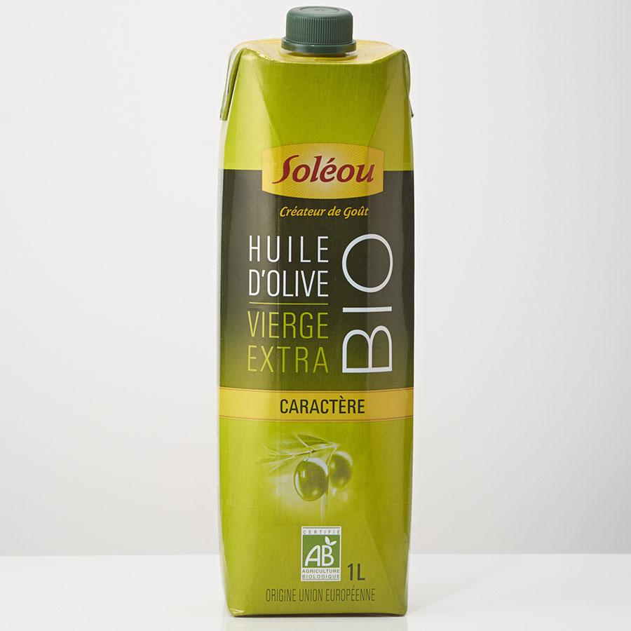 Soléou Bio - Huile d'olive - Caractère -