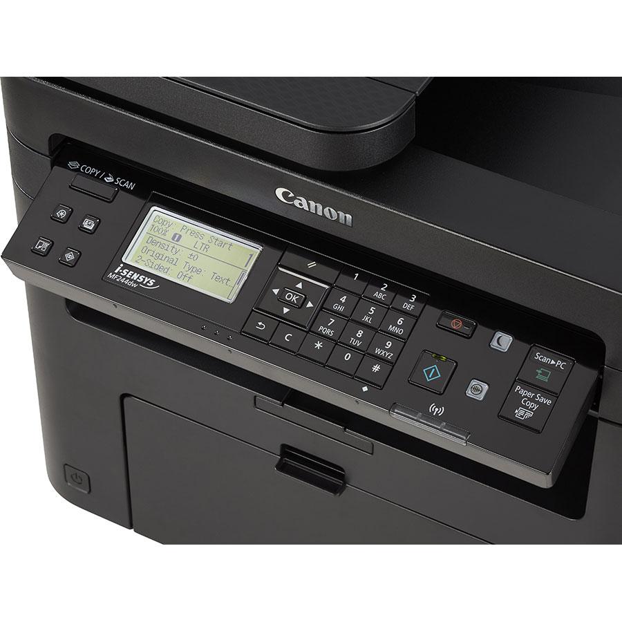 Canon i-Sensys MF244dw - Bandeau de commandes