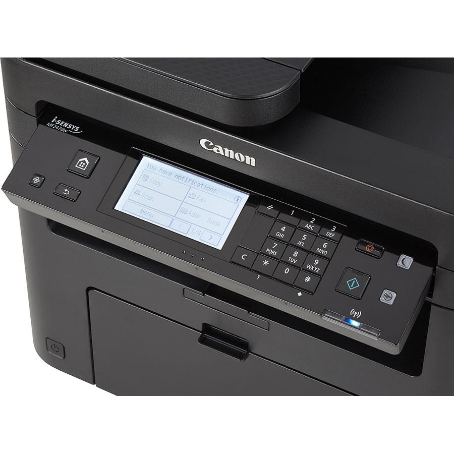 Canon i-Sensys MF247dw - Bandeau de commandes