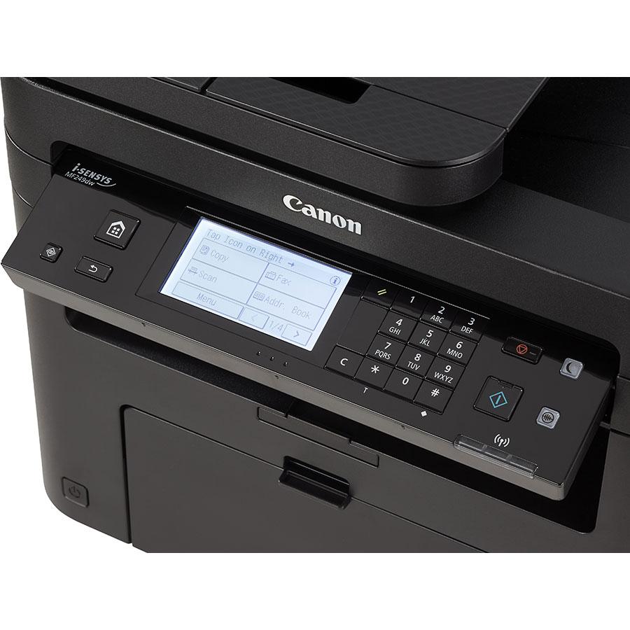 Canon i-Sensys MF249dw - Bandeau de commandes
