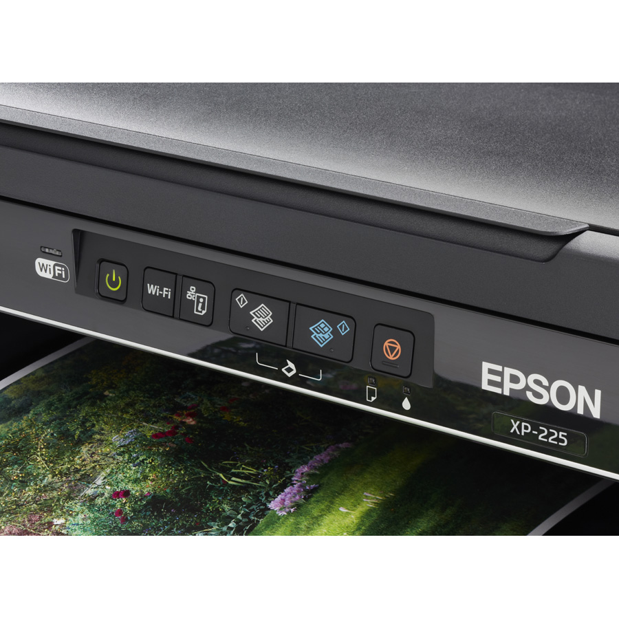 Epson Expression Home XP-225 - Bandeau de commandes