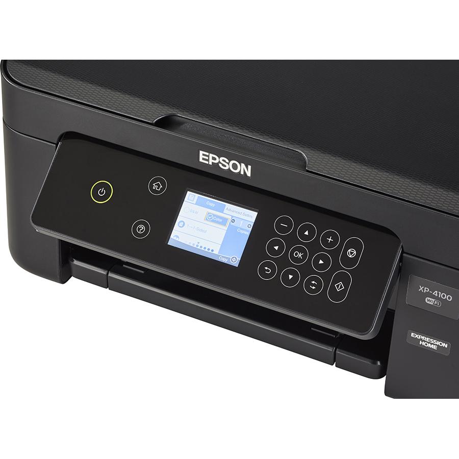 Epson Expression Home XP-4100 - Bandeau de commandes