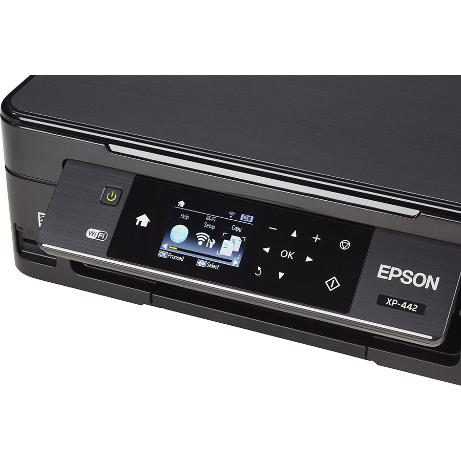 Epson Expression Home XP-442 - Bandeau de commandes