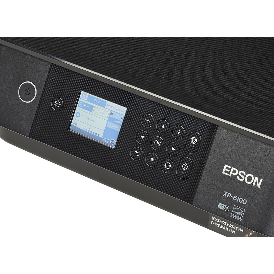 Epson Expression Premium XP-6100 - Bandeau de commandes
