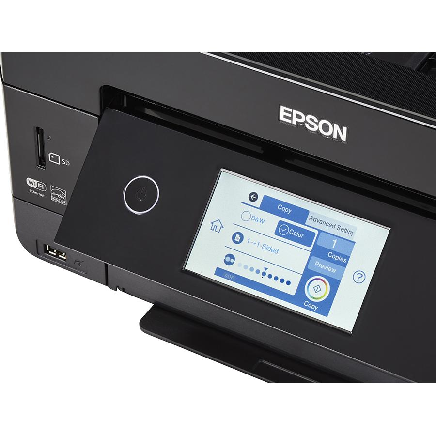 Epson Expression Premium XP-7100 - Bandeau de commandes