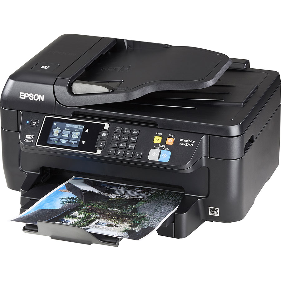 Epson Workforce 2760DWF - Vue principale
