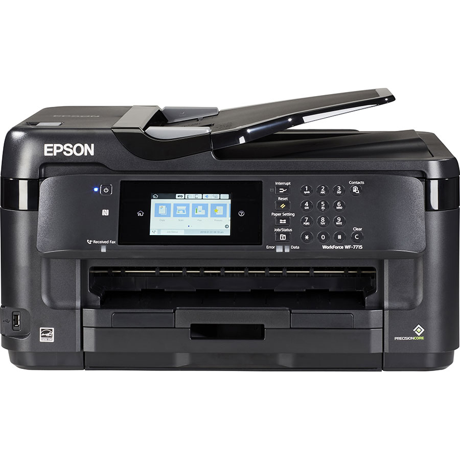 Epson Workforce WF-7715DWF - Vue de face