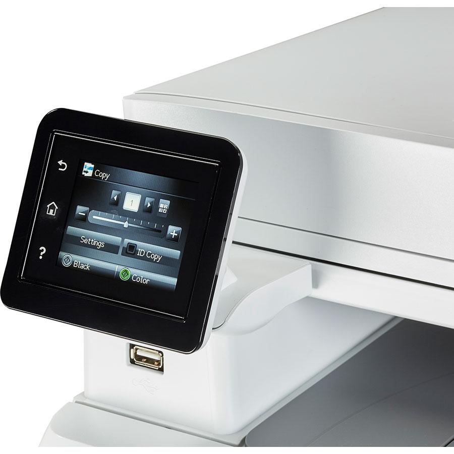HP Color LaserJet Pro M283fdw - Bandeau de commandes