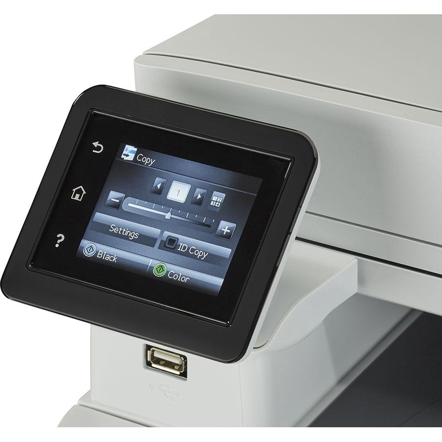 HP Color Laserjet Pro MFP M281fdw - Bandeau de commandes
