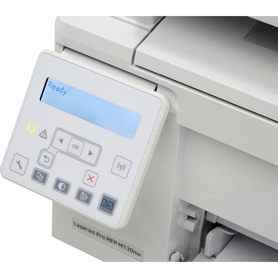 HP Laserjet Pro M130nw - Bandeau de commandes