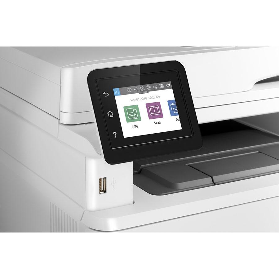 HP Laserjet Pro MFP M428dw - Bandeau de commandes