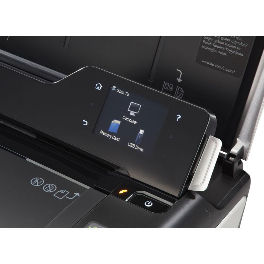 HP Officejet 150 (CN550A) - Bandeau de commandes