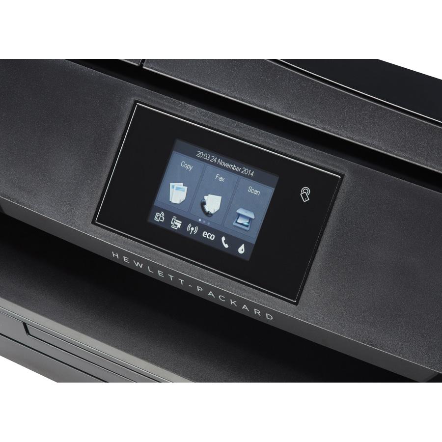 HP Officejet 5740 e-All-in-One - Bandeau de commandes