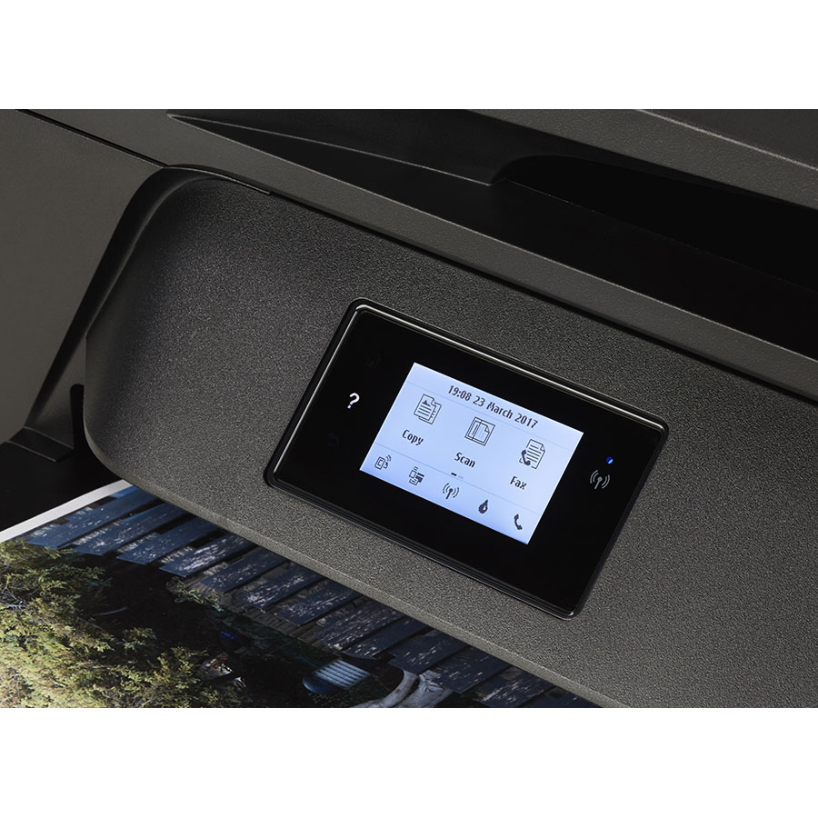 HP Officejet 6950 - Bandeau de commandes