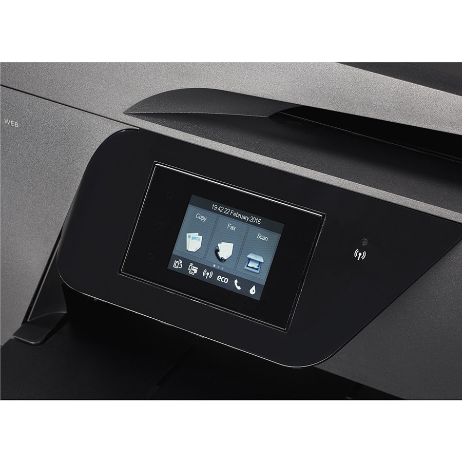 HP Officejet 7510 - Bandeau de commandes