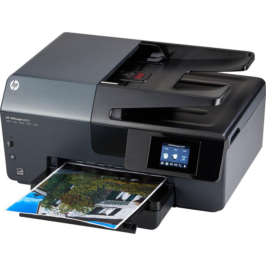 cartouches d 39 encre pour l 39 imprimante hp officejet 6820 okego. Black Bedroom Furniture Sets. Home Design Ideas