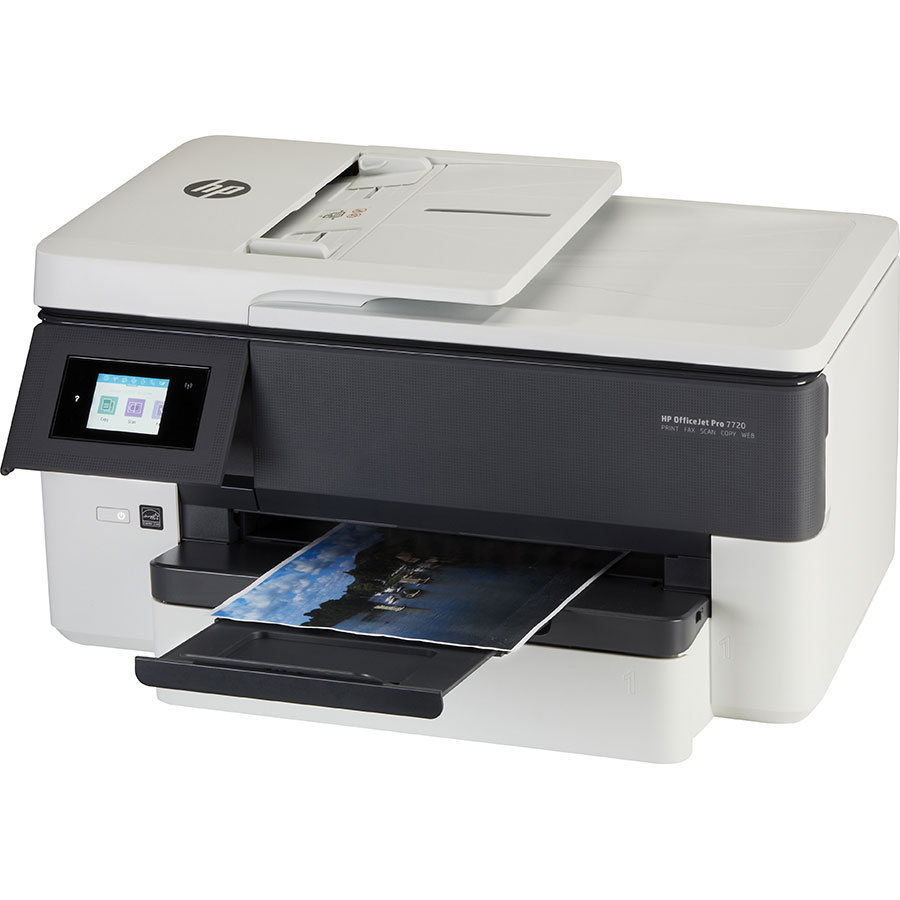 HP Officejet Pro 7720 - Vue principale