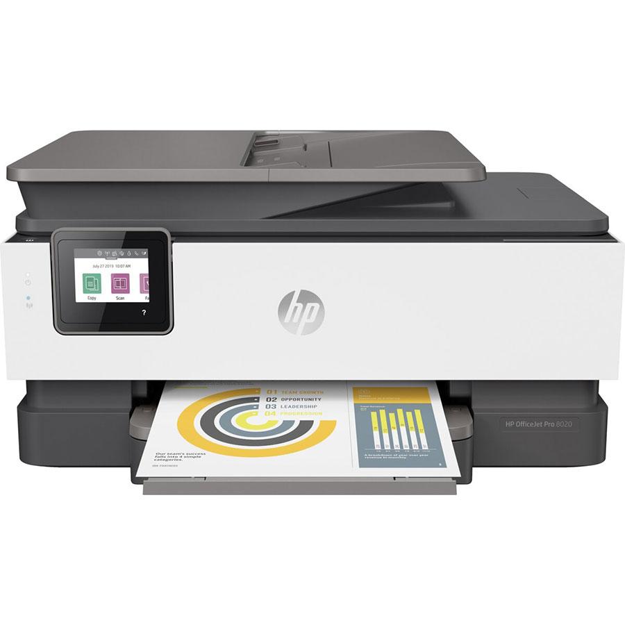 HP OfficeJet Pro 8024 - Vue de face
