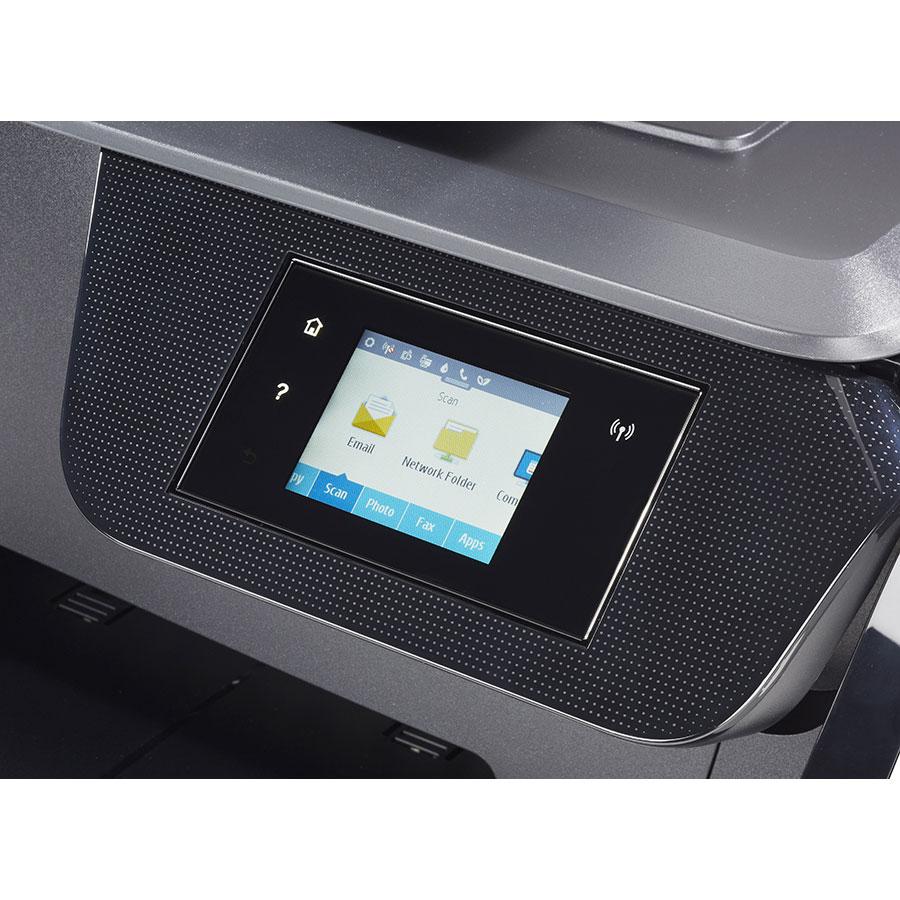 HP Officejet Pro 8710 - Bandeau de commandes