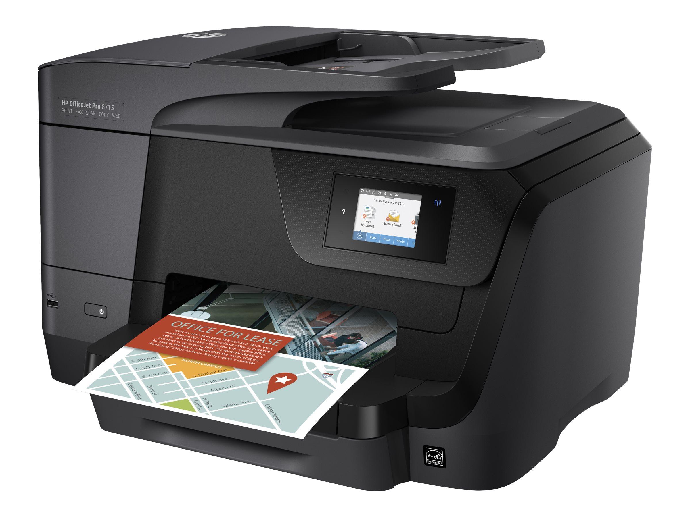 HP Officejet Pro 8715 -