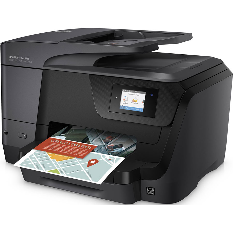 HP Officejet Pro 8718 - Vue principale