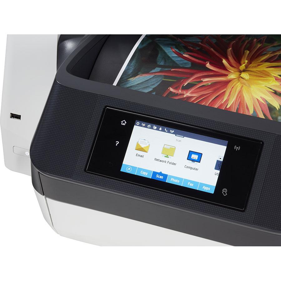 HP Officejet Pro 8720 - Bandeau de commandes